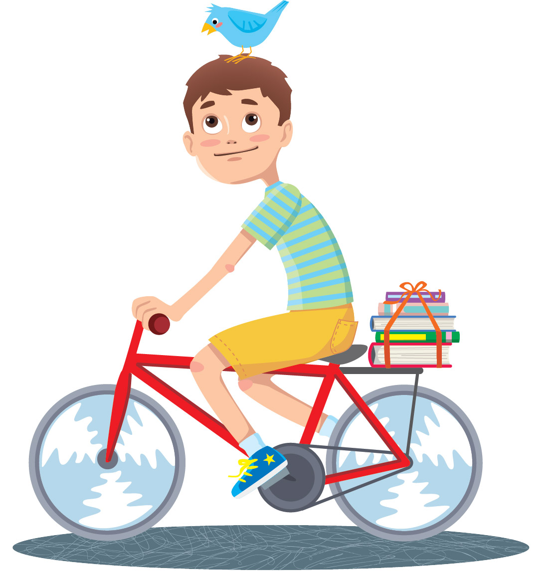 2-boy on bicycle